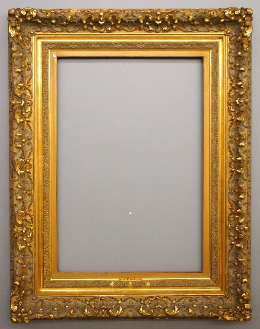 19th c Louis XV style frame