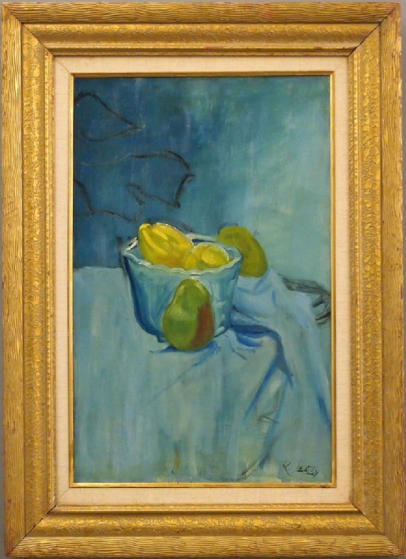 Richard Jerzy still life with pears
