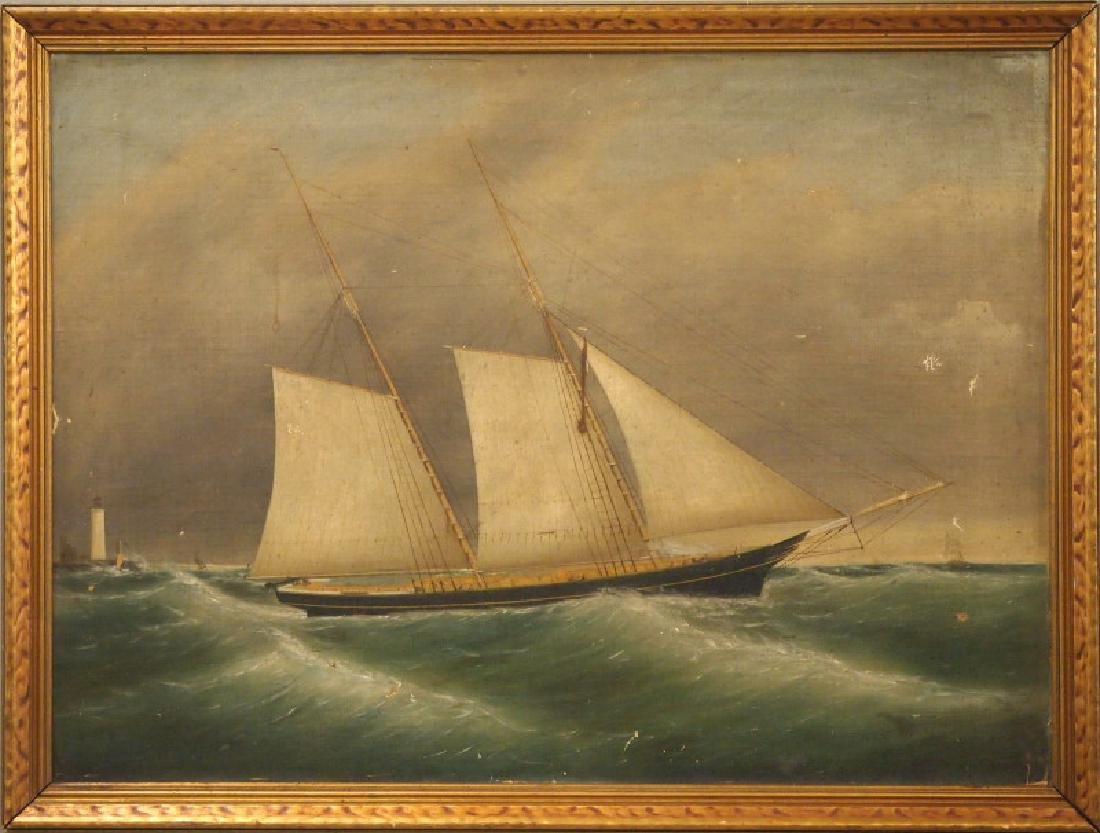 19th c oil painting