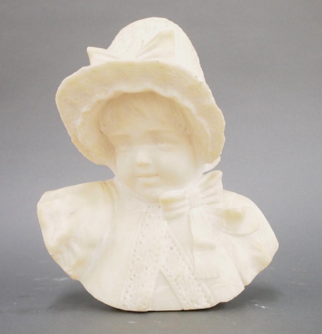 Italian alabaster bust