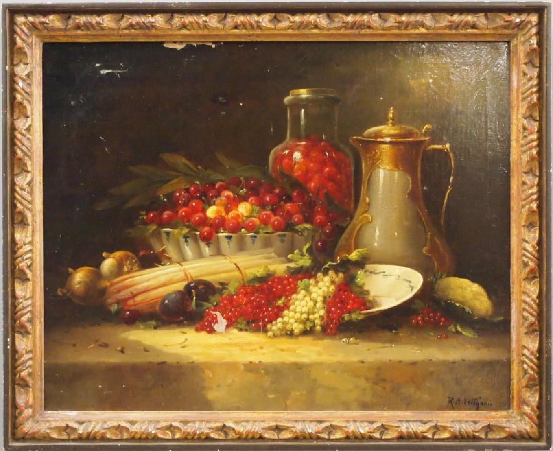R. A. Vellhorn oil on canvas
