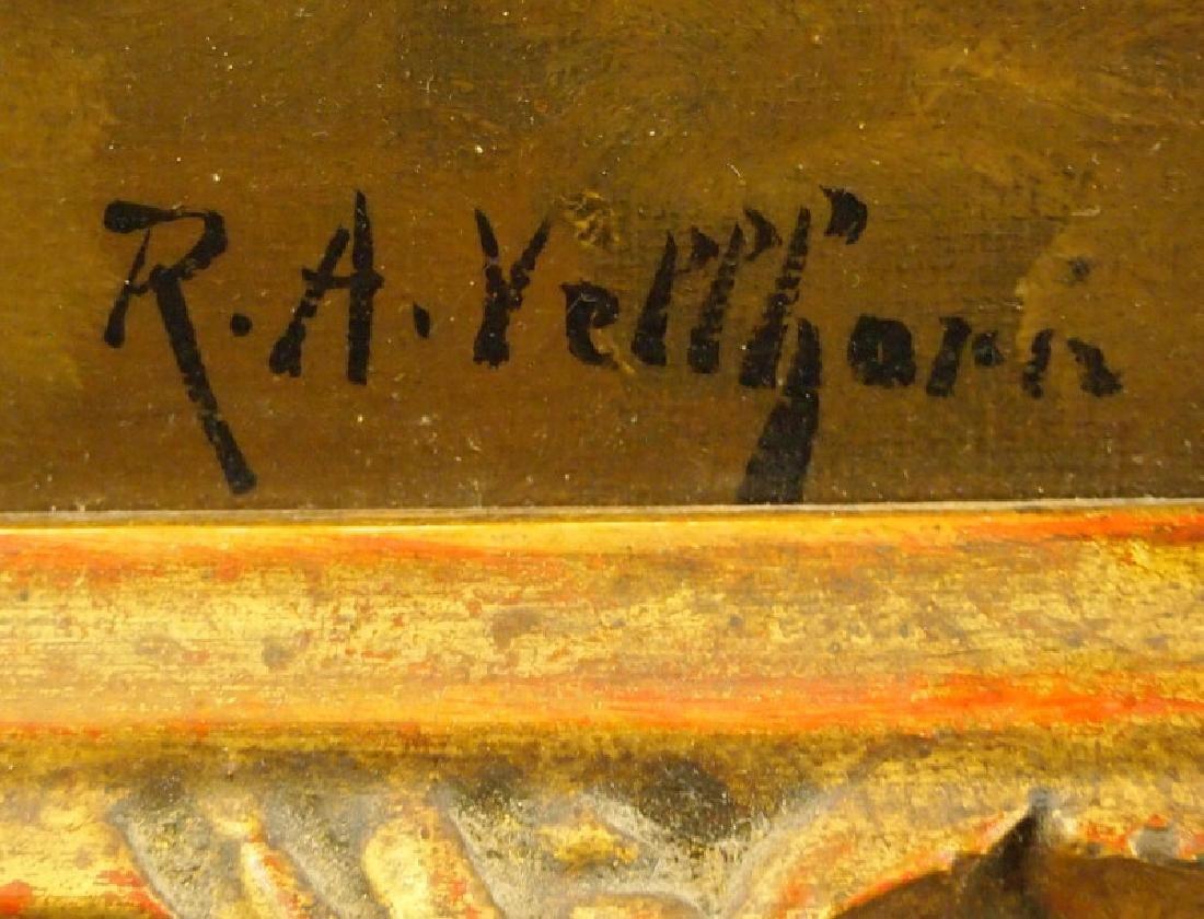 R. A. Vellhorn oil on canvas - 2
