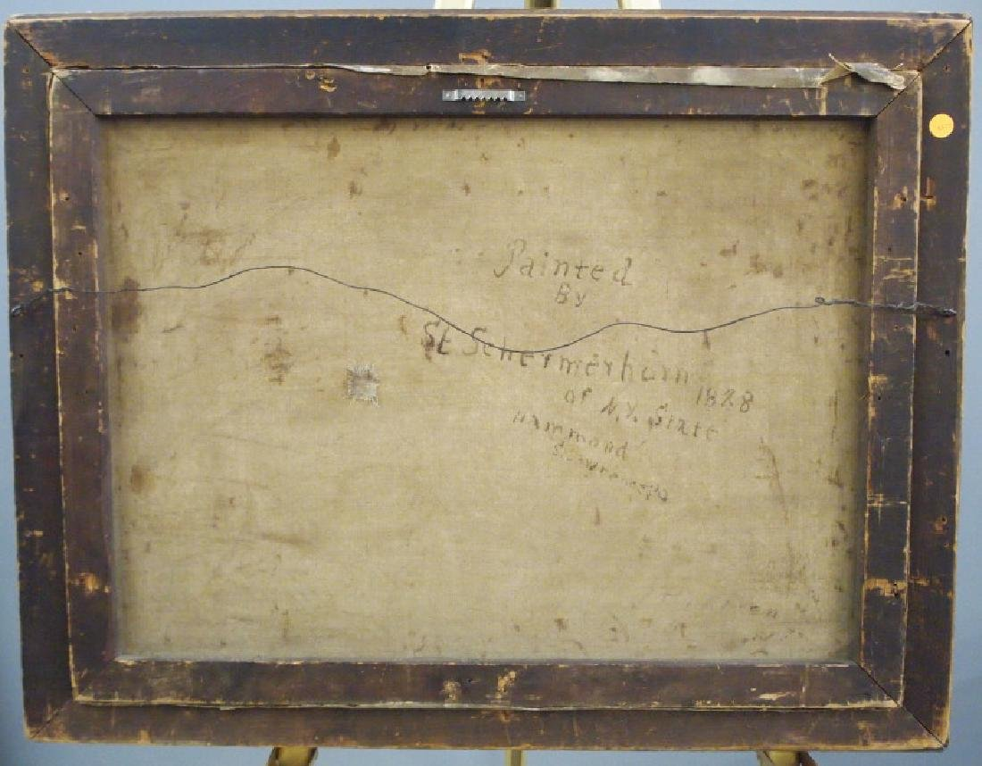 19th c American oil painting - 3