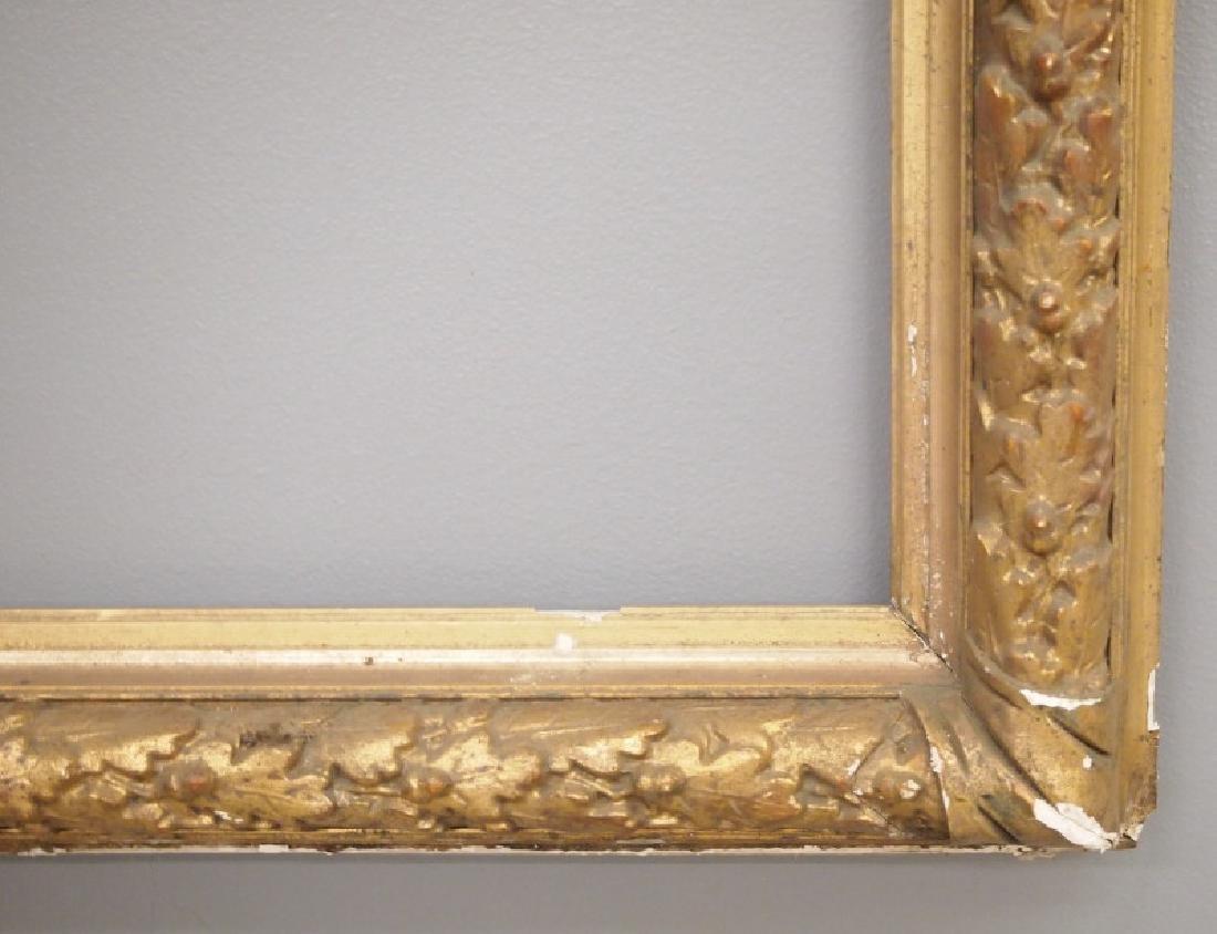 19th c American gilt gesso frame - 2