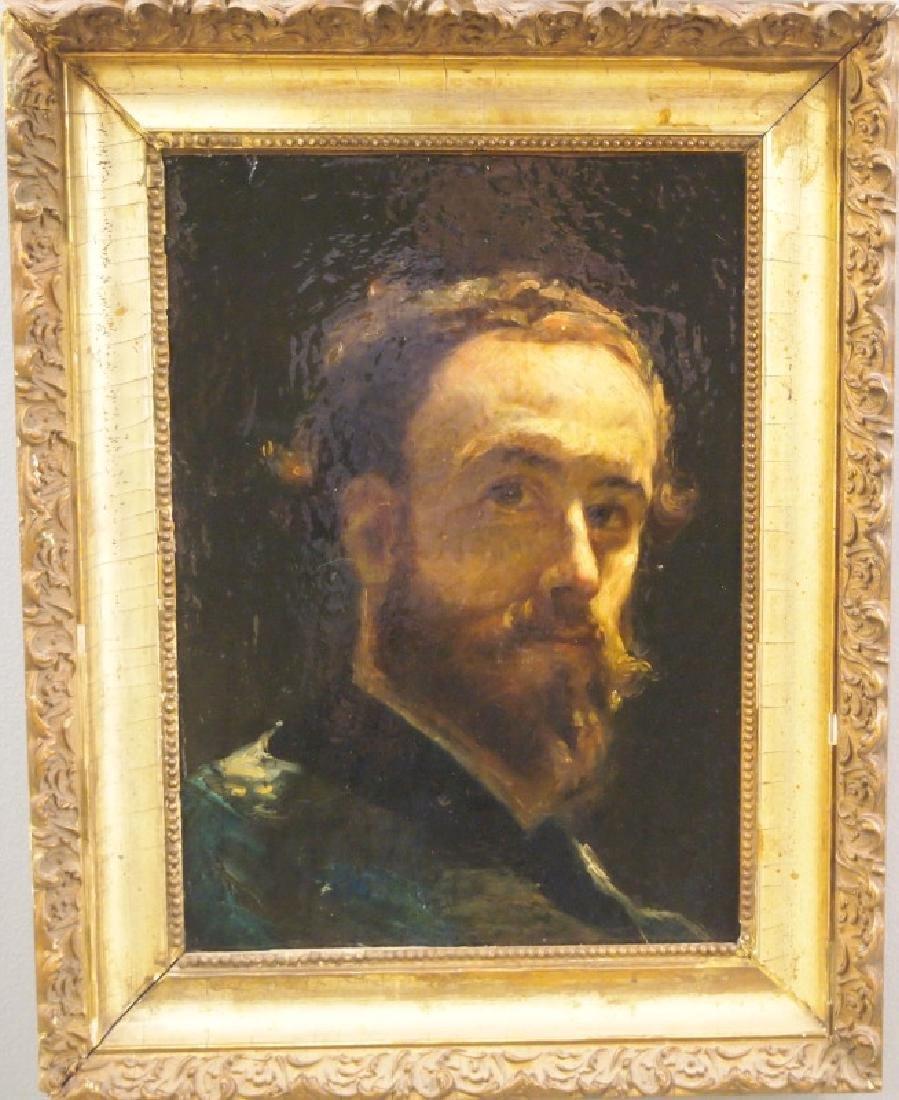 Portrait on canvas