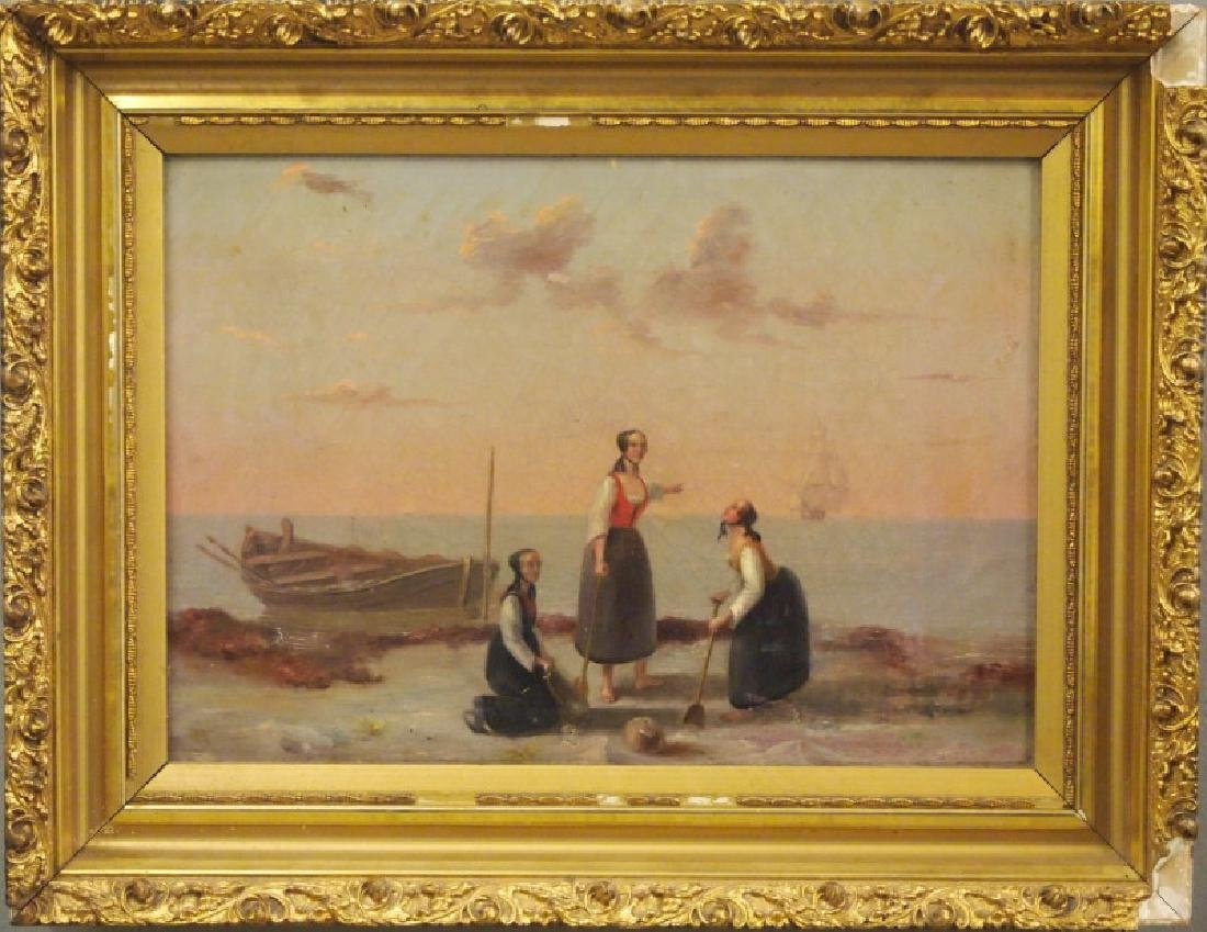 Late 19th c oil painting