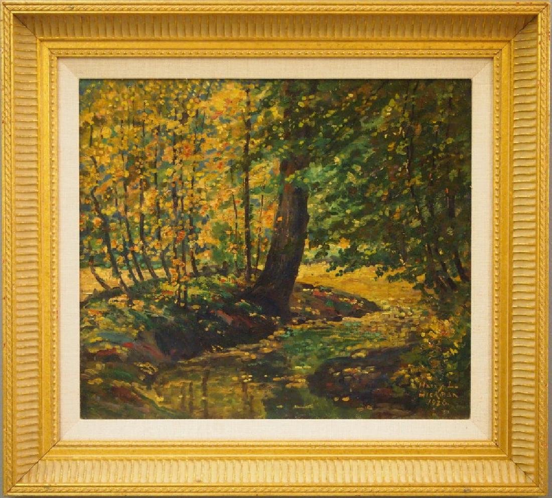 Early 20th c oil painting