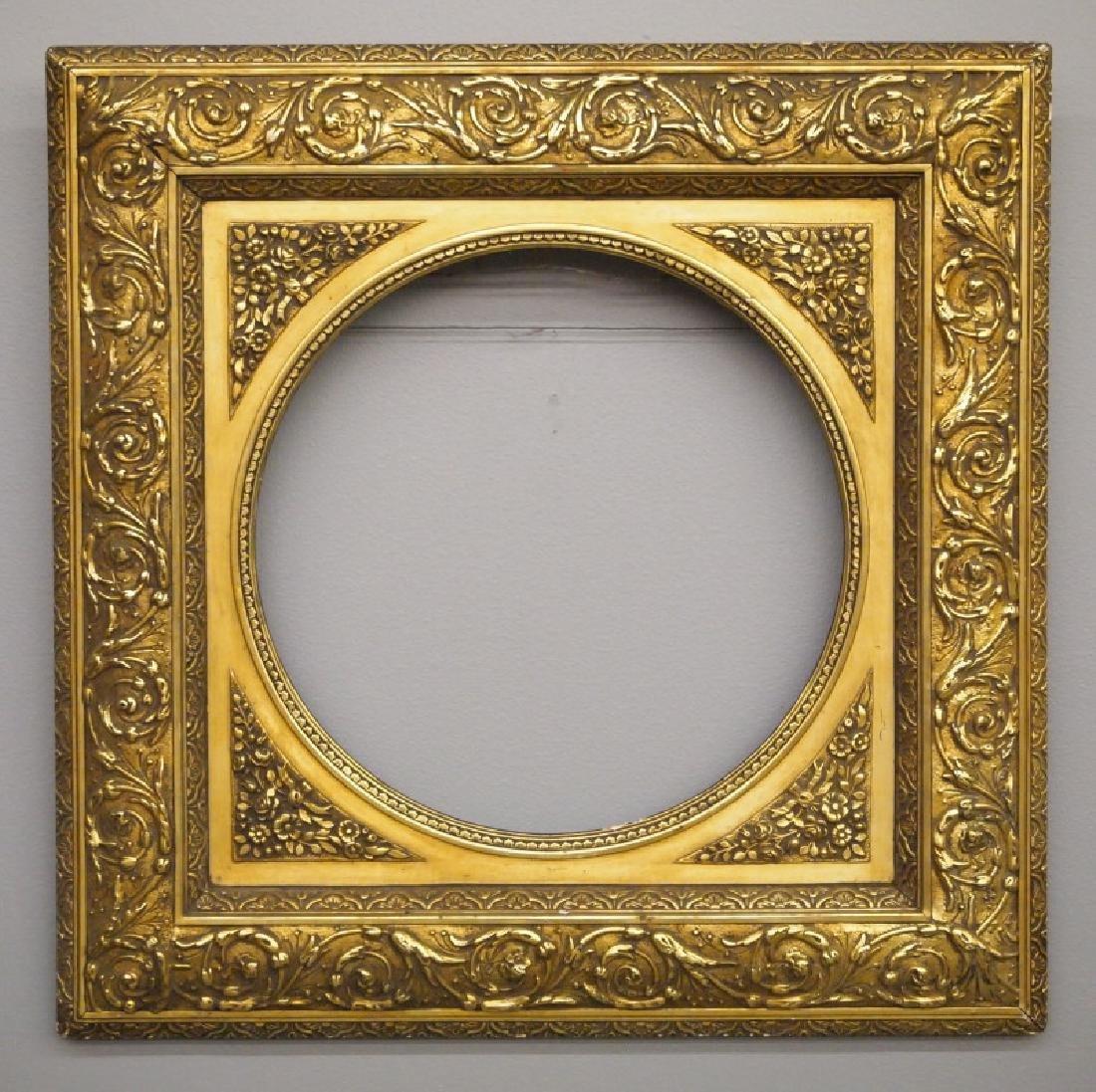 Gilt wood frame