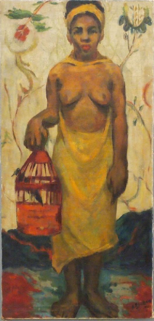 Anni Becker Ropp oil painting