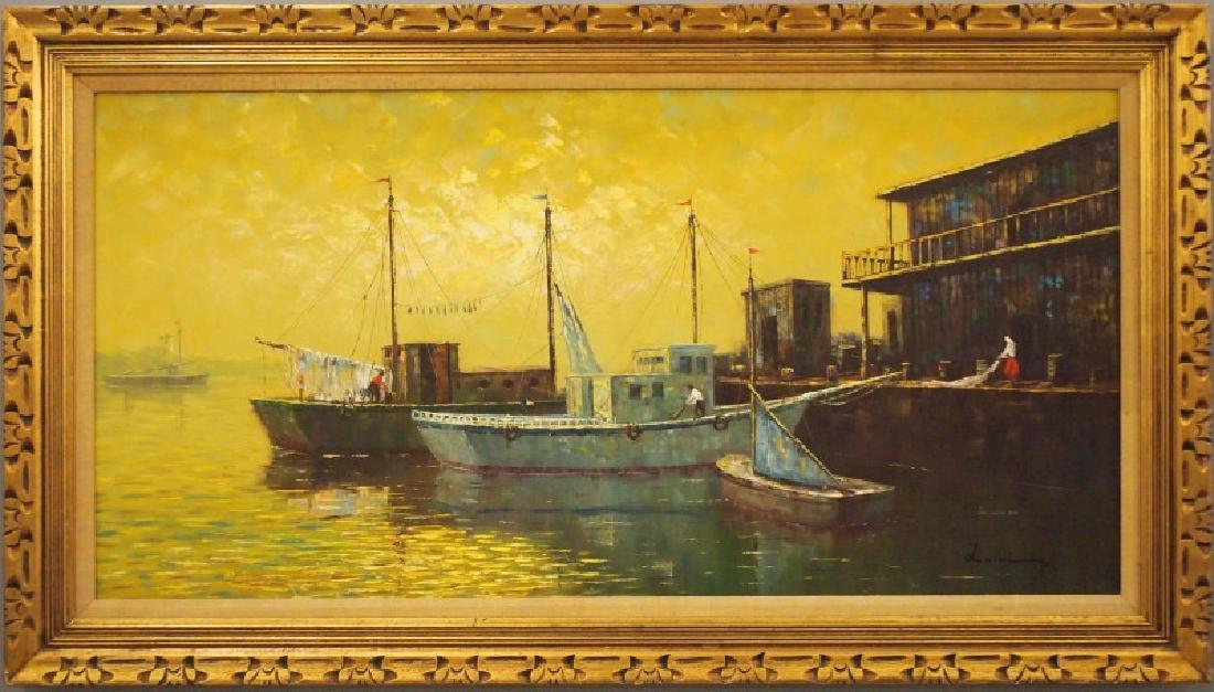 Luini oil on canvas