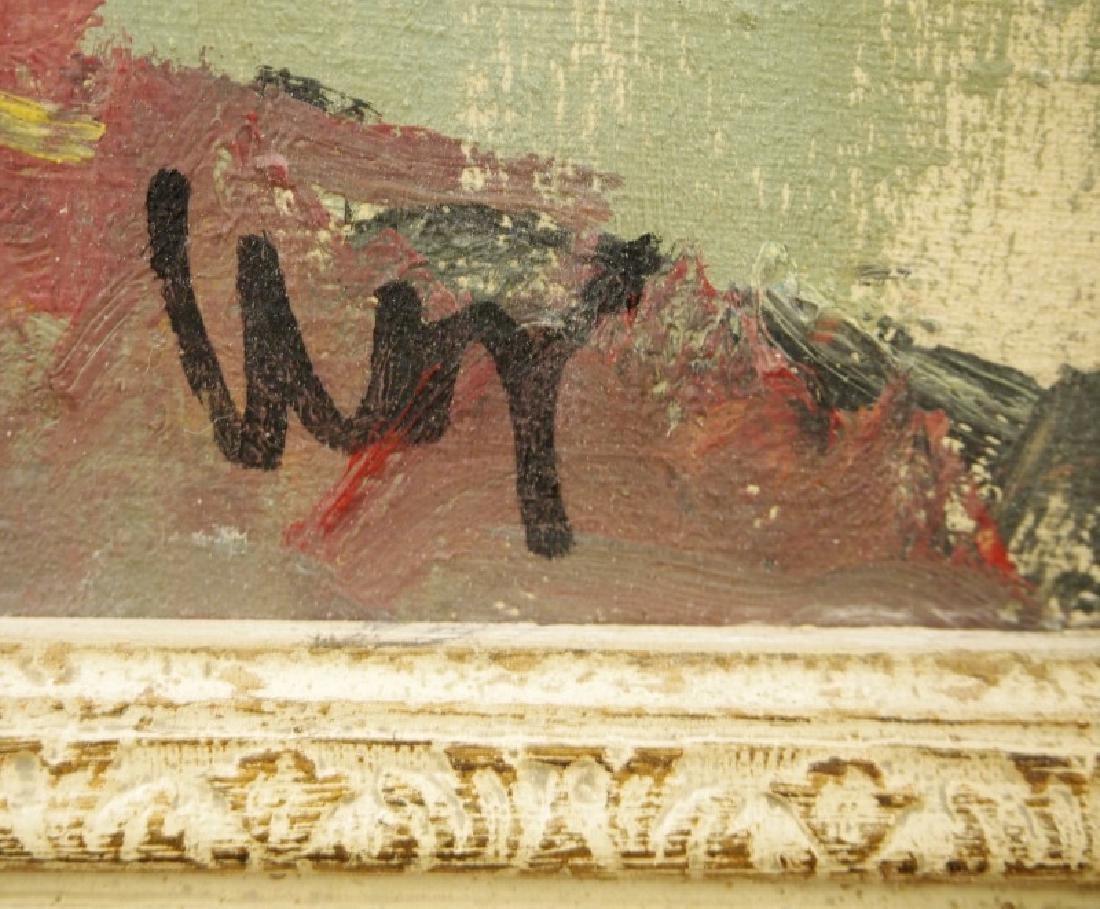 Italian oil on canvas - 2