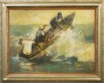 Rick Davis oil on canvas