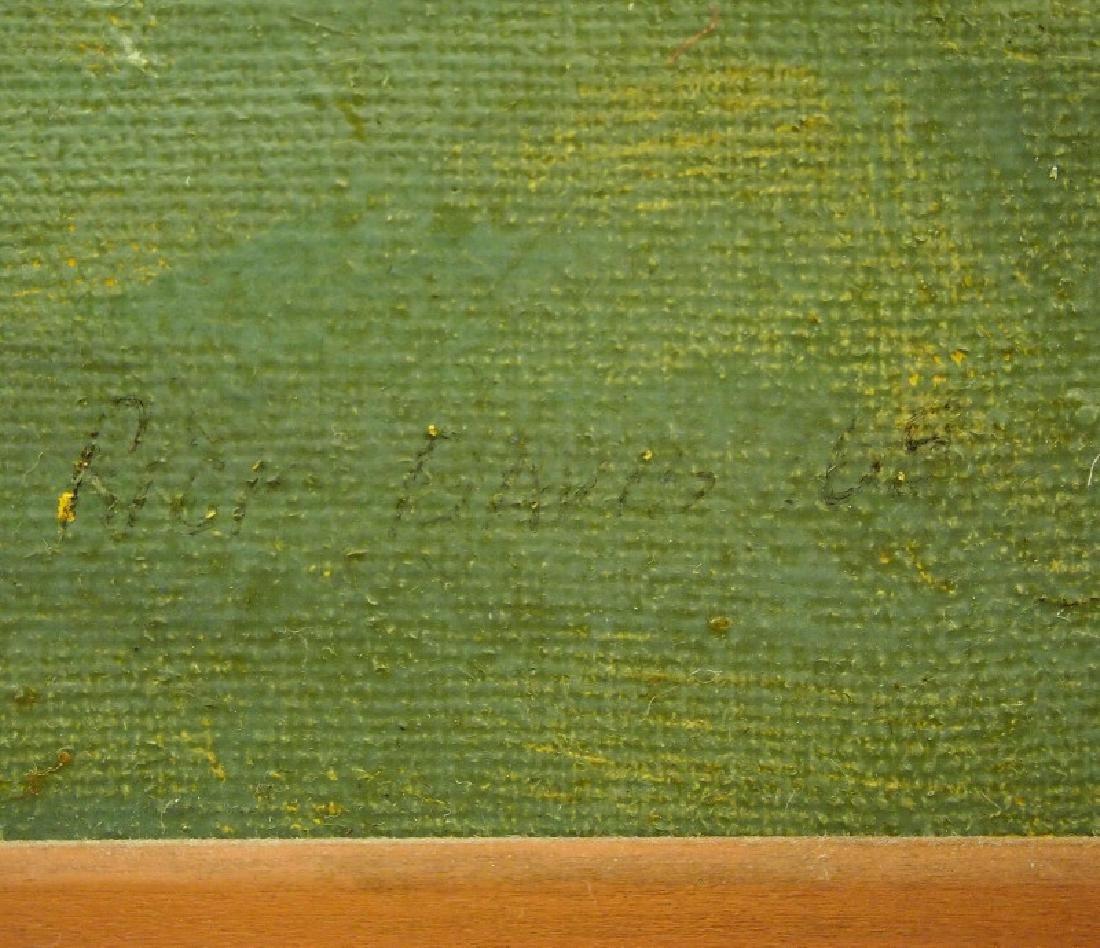 Rick Davis oil on canvas - 2