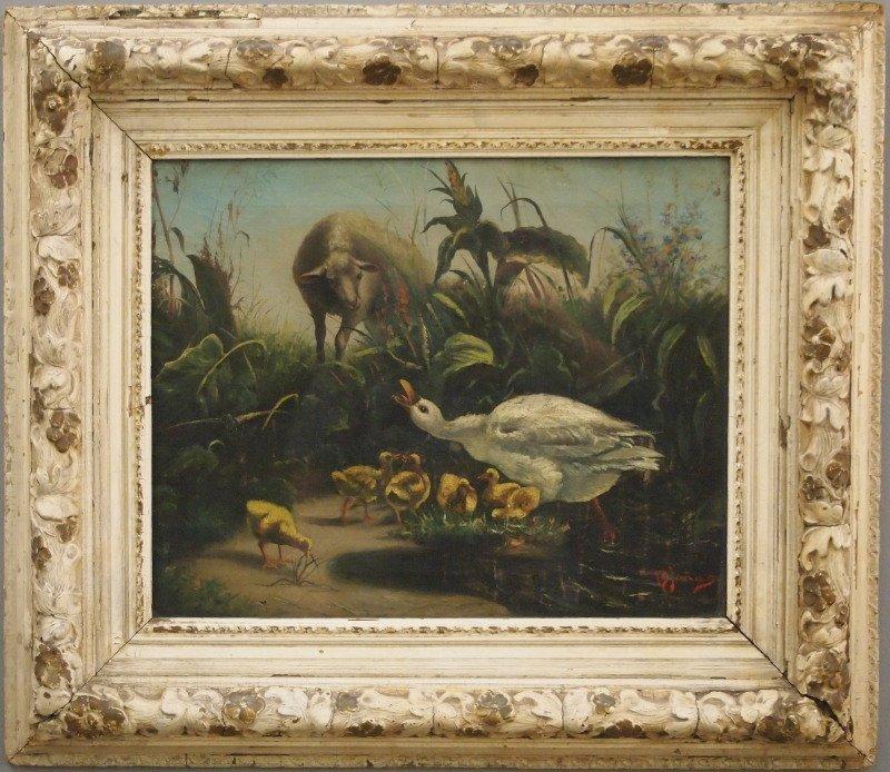 H. B. Jones oil painting