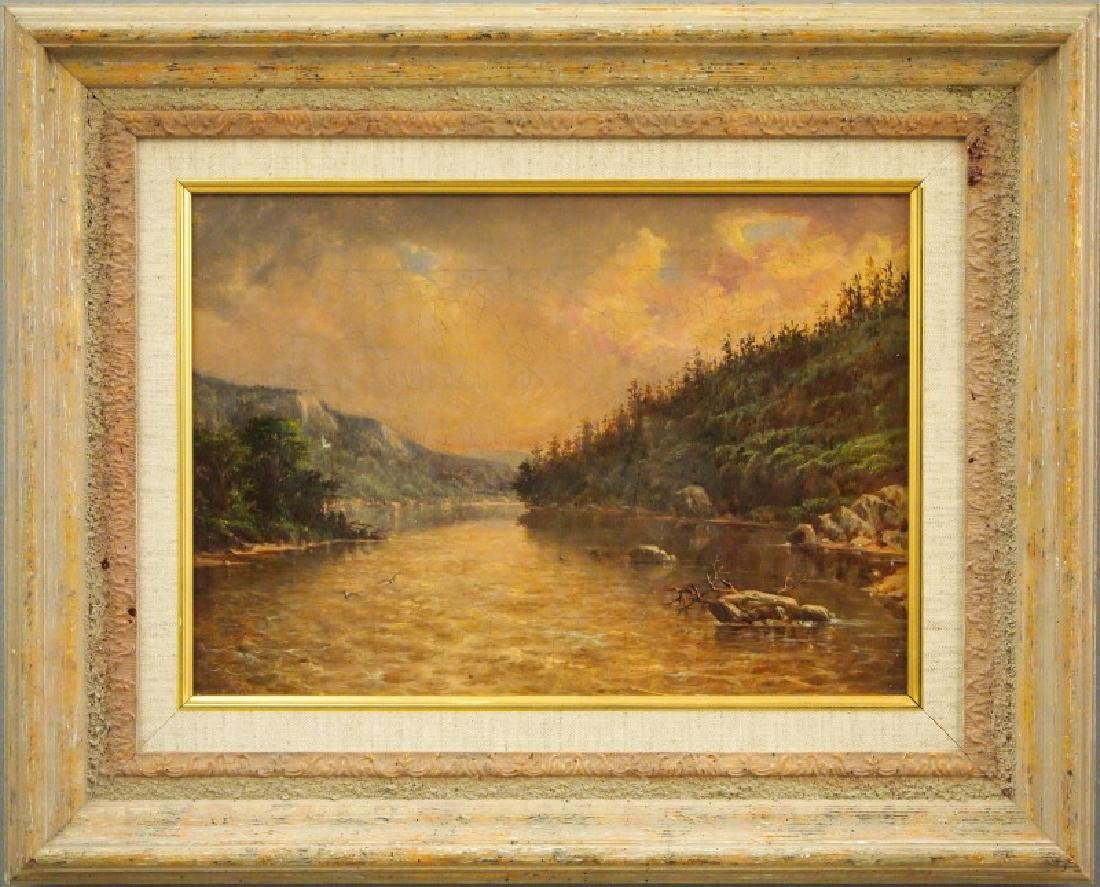 W. Noble oil painting
