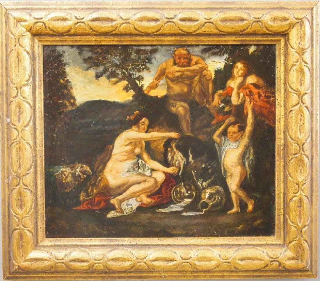European oil painting