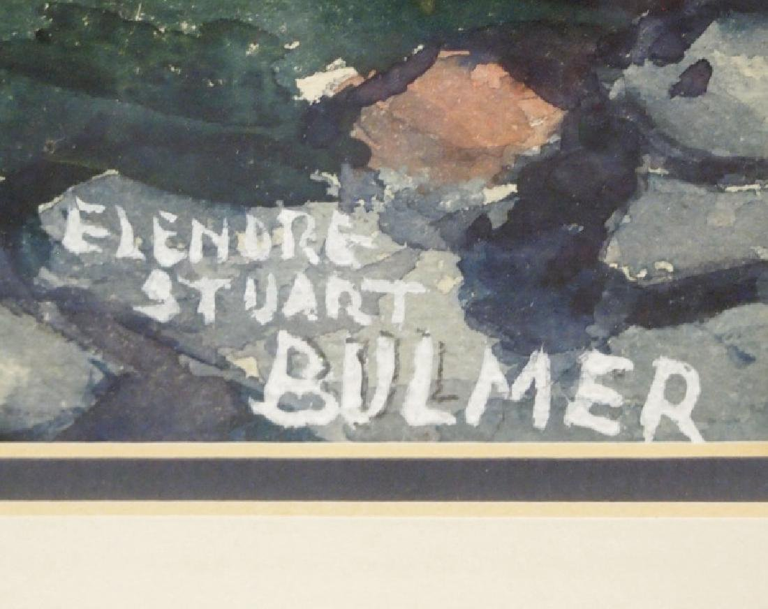 Elenore Stuart Bulmer watercolor - 2