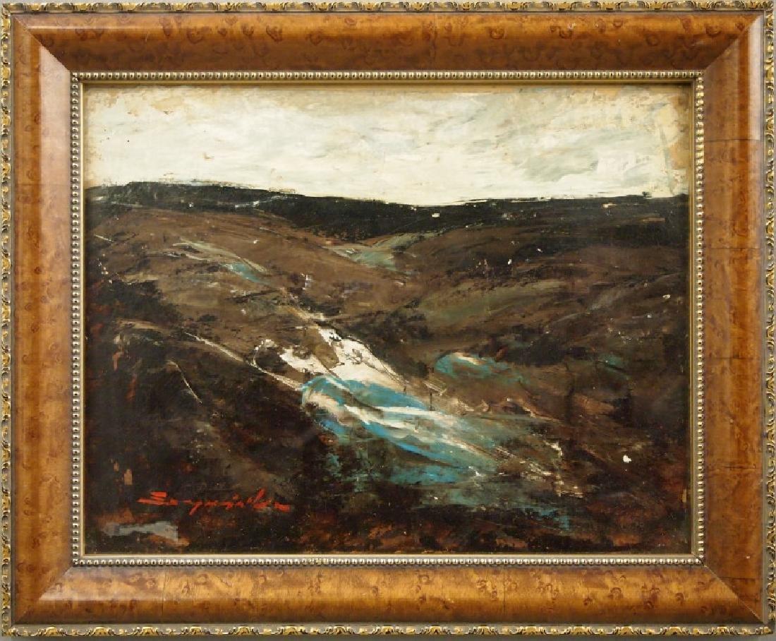 Szegvari oil painting