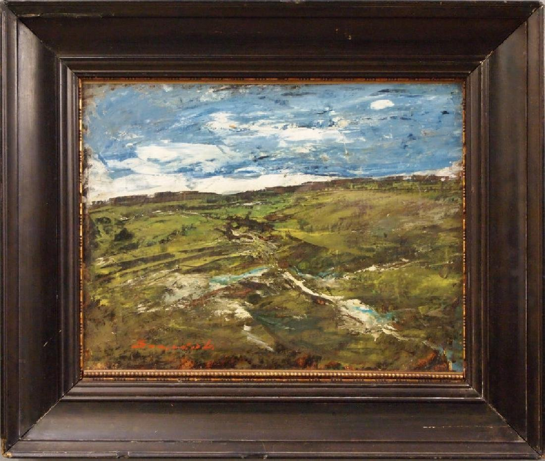 Szegvari oil painting