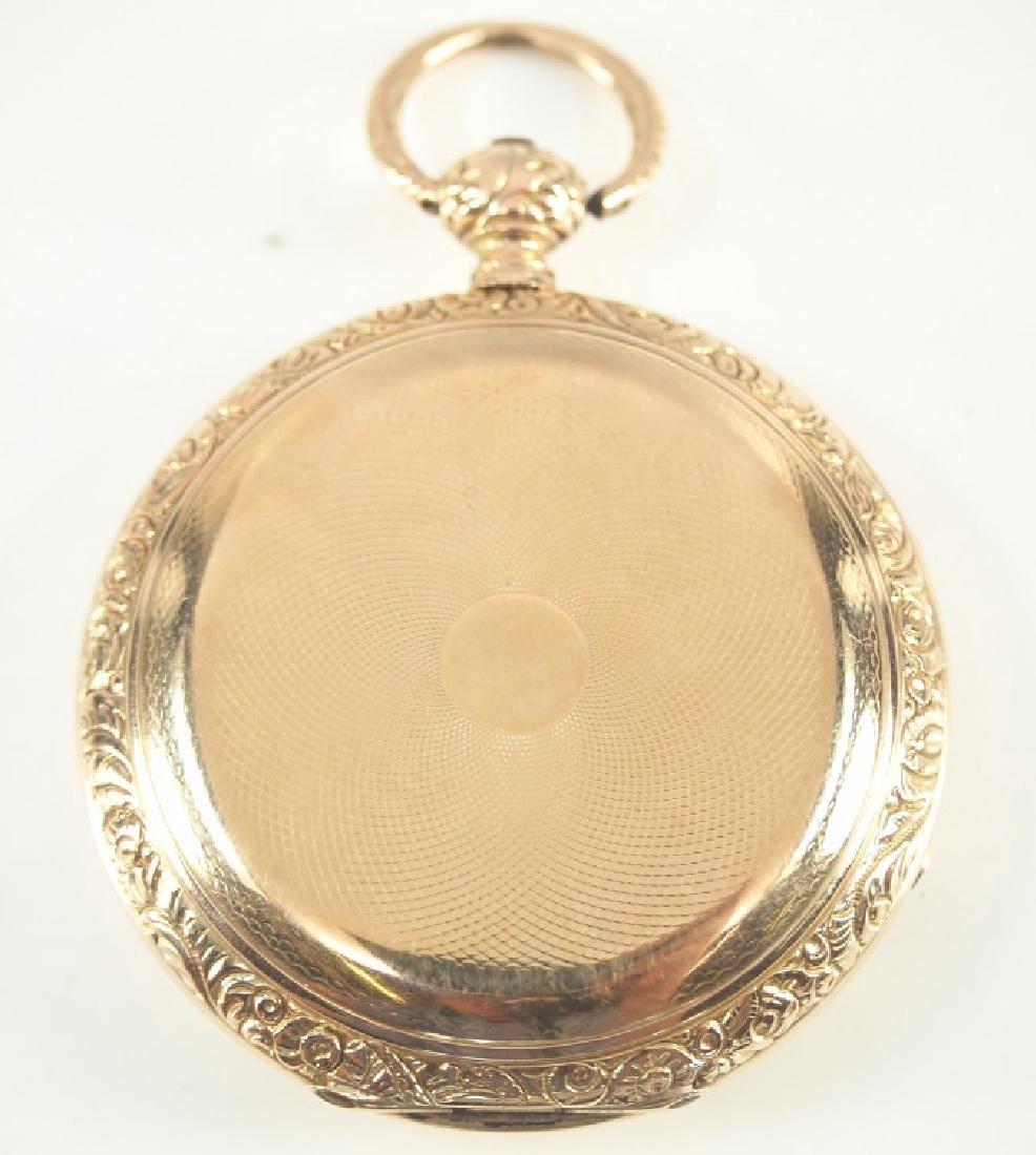 Jos. French, London 18k convertible pocket watch,
