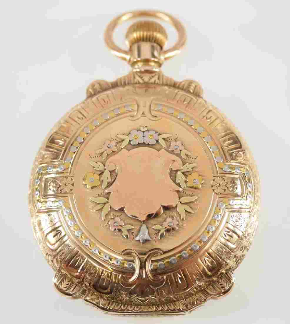 Hamilton Model 941 14k pocket watch