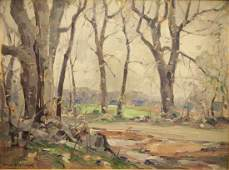 Frank S. Chase Early Spring Landscape