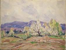 Frank S. Chase Spring Landscape