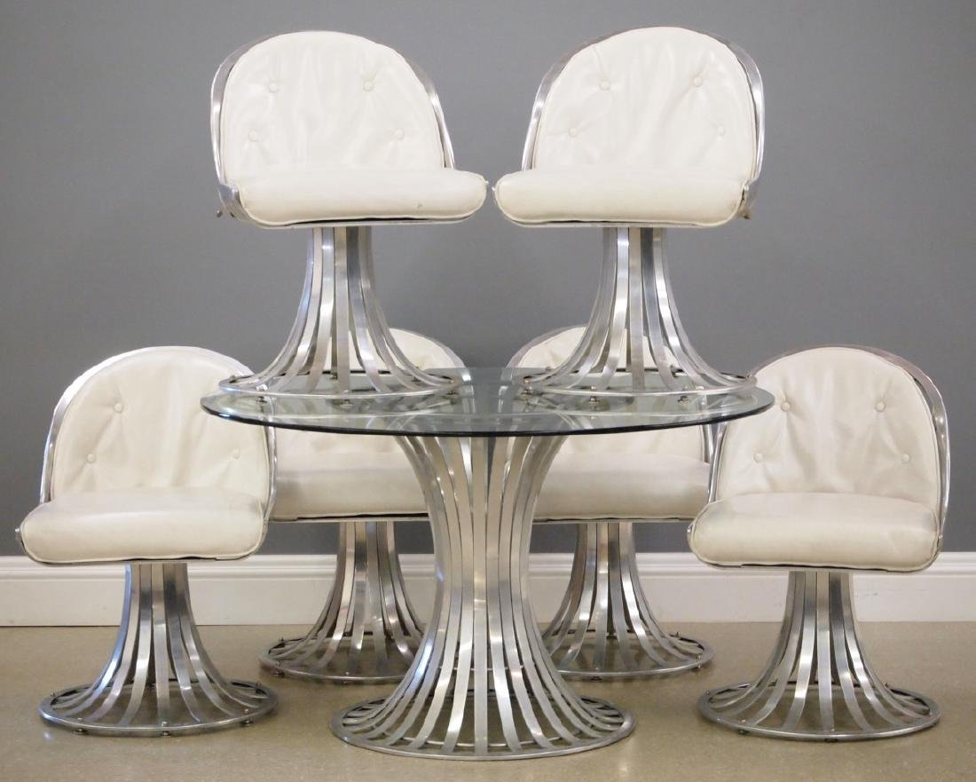 7 pc Russell Woodard dining set