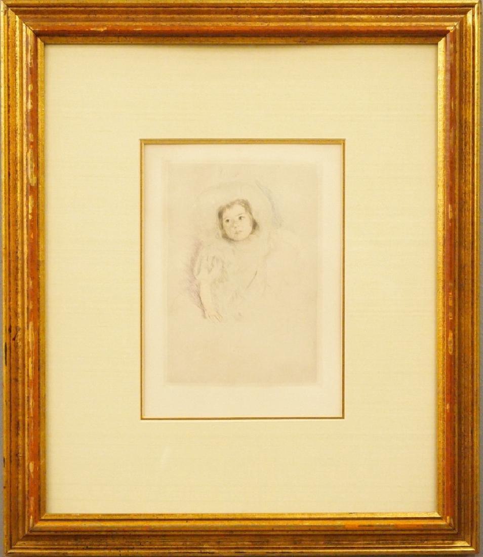 Mary Cassatt Margot Wearing a Bonnet