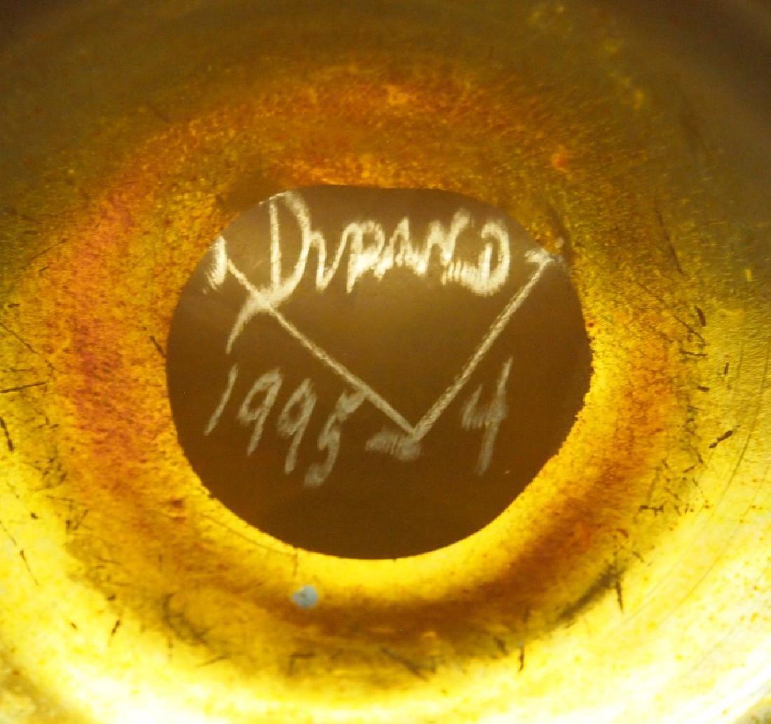 Durand Gold Lustre vase - 2
