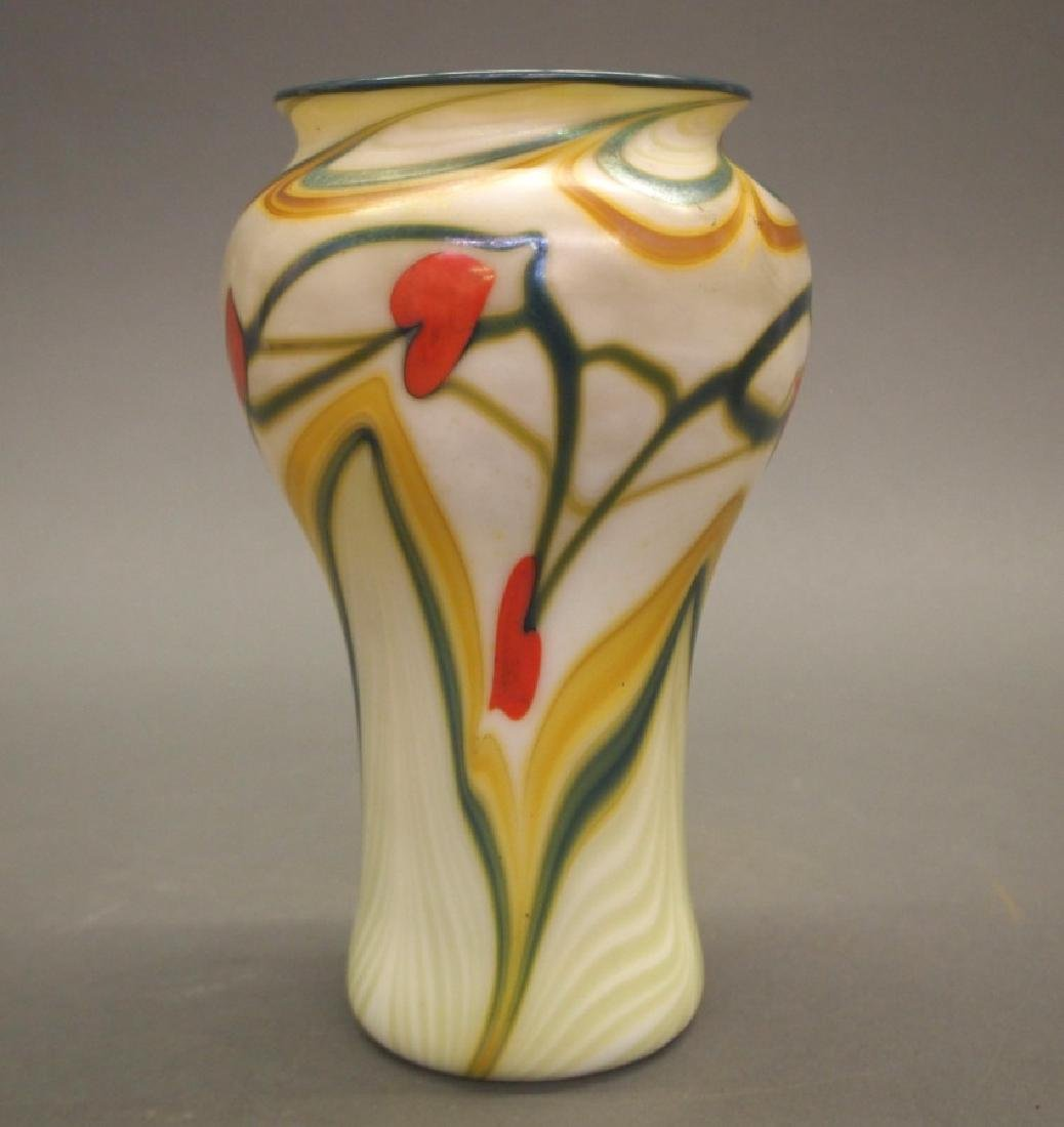 Orient and Flume studio glass vase