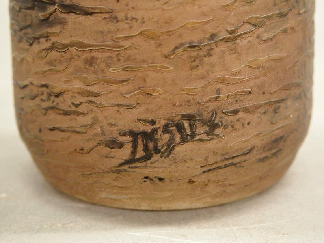 Degue Cameo scenic vase - 3