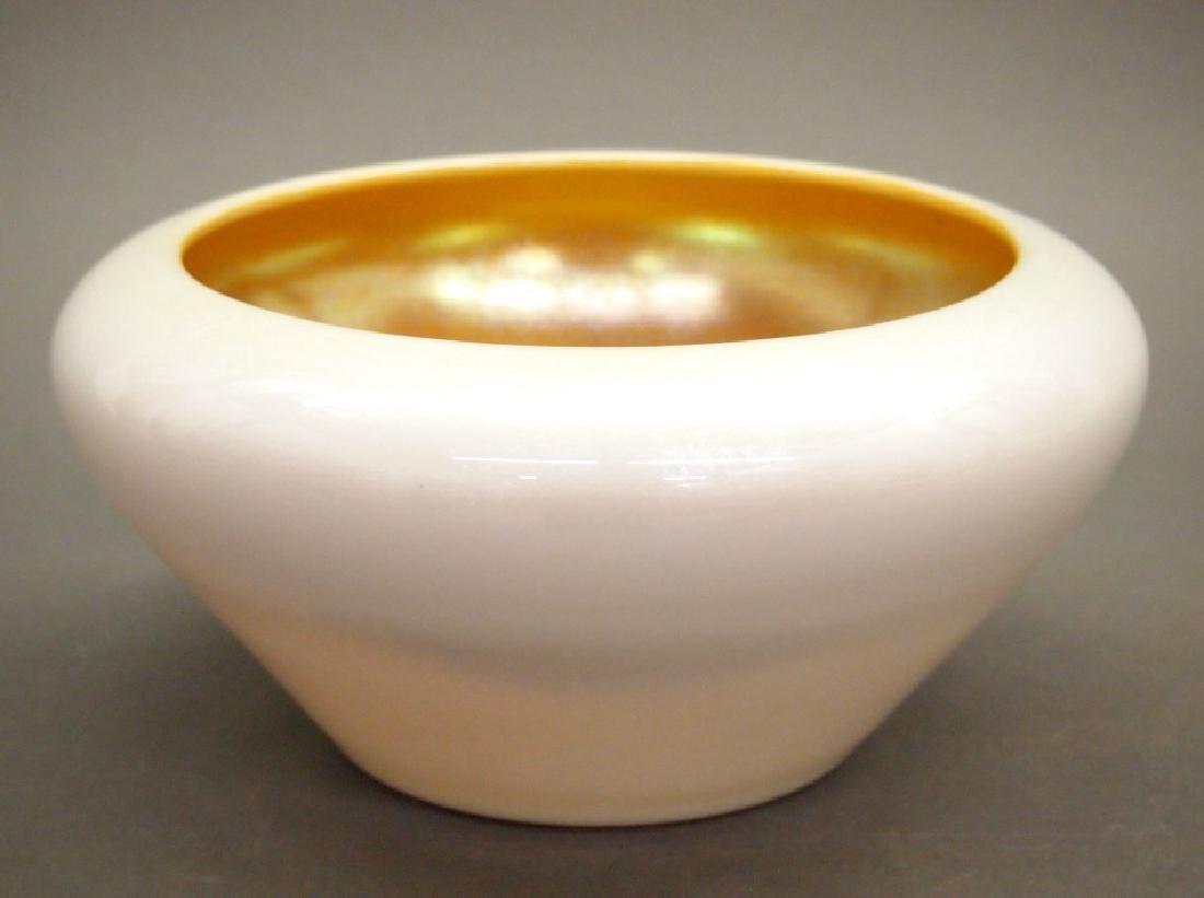 Steuben Aurene bowl