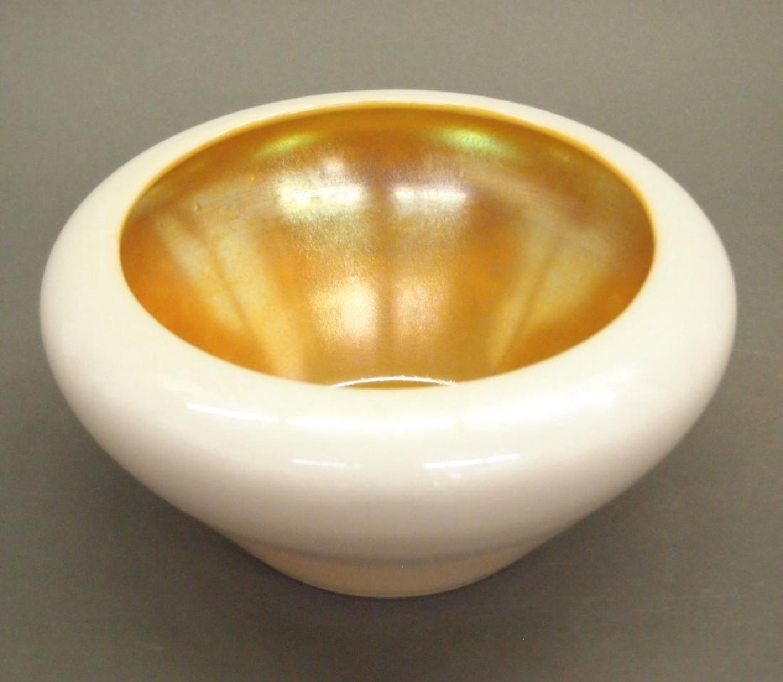 Steuben Aurene bowl - 2