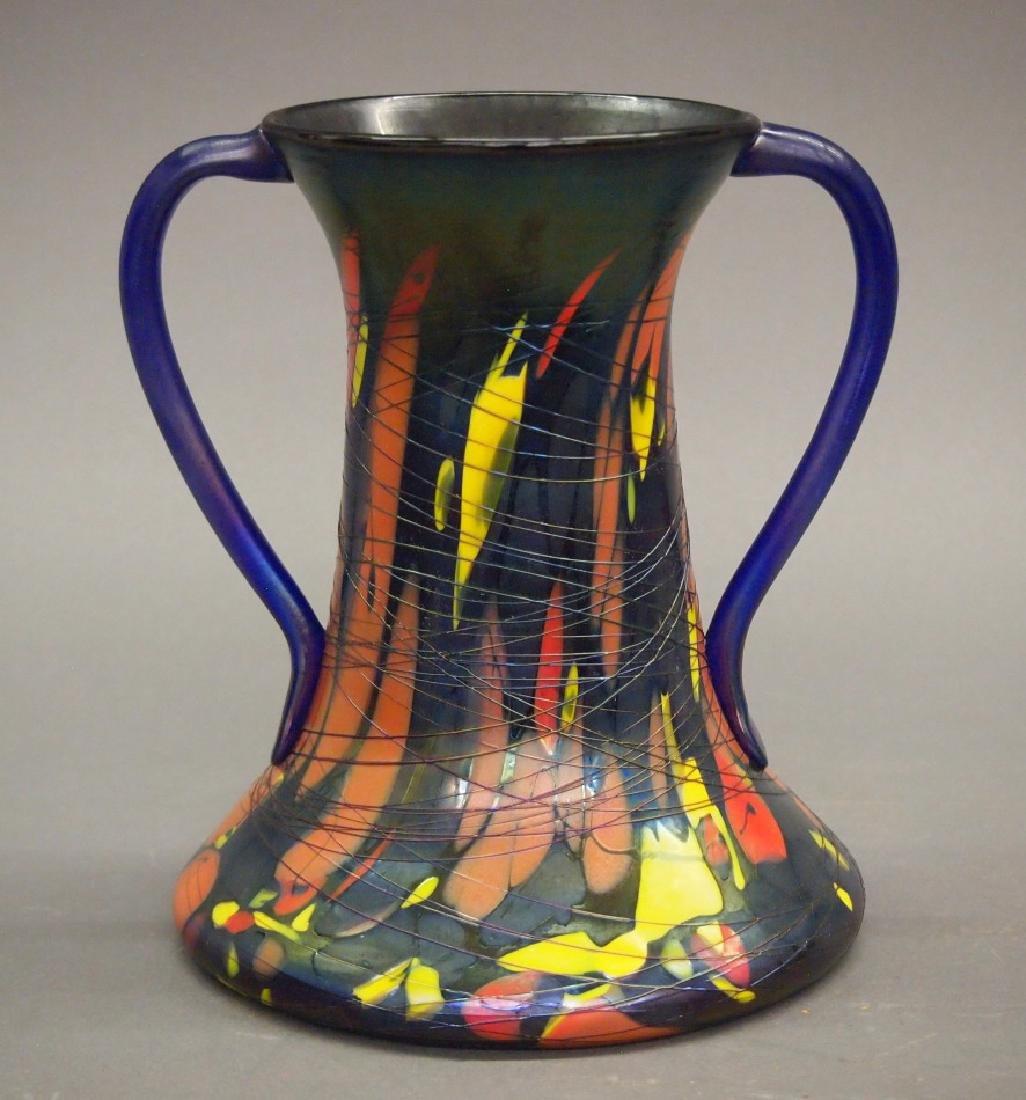 Fenton Mosaic vase