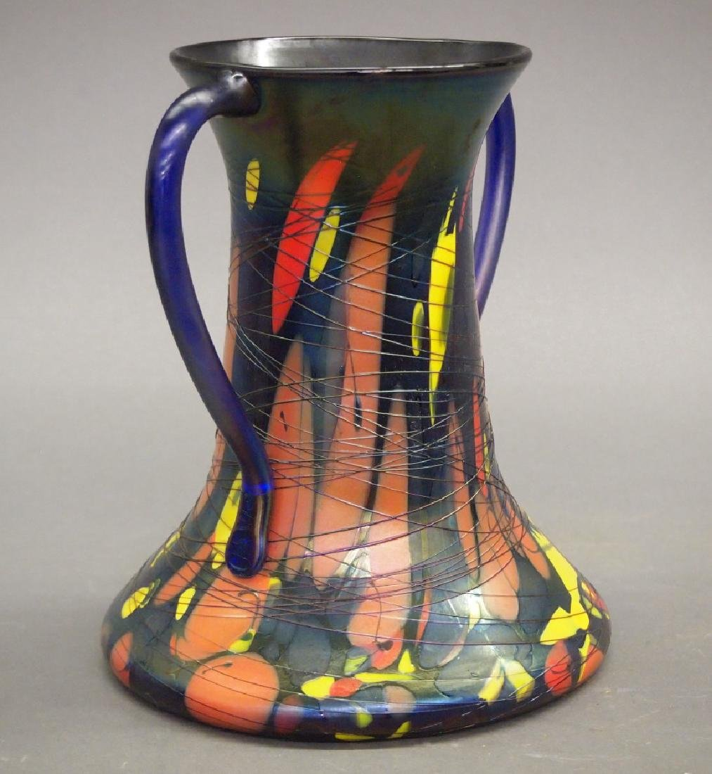 Fenton Mosaic vase - 2