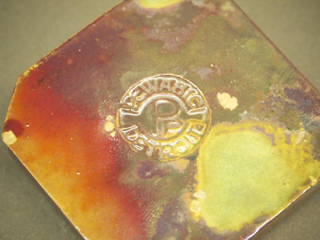 Pewabic Art Pottery paperweights - 2