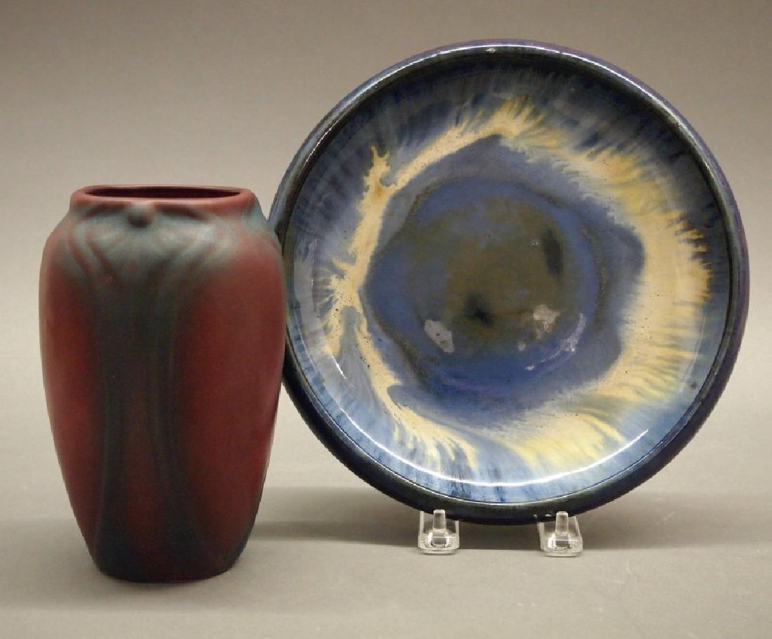 2 pc American Art Pottery
