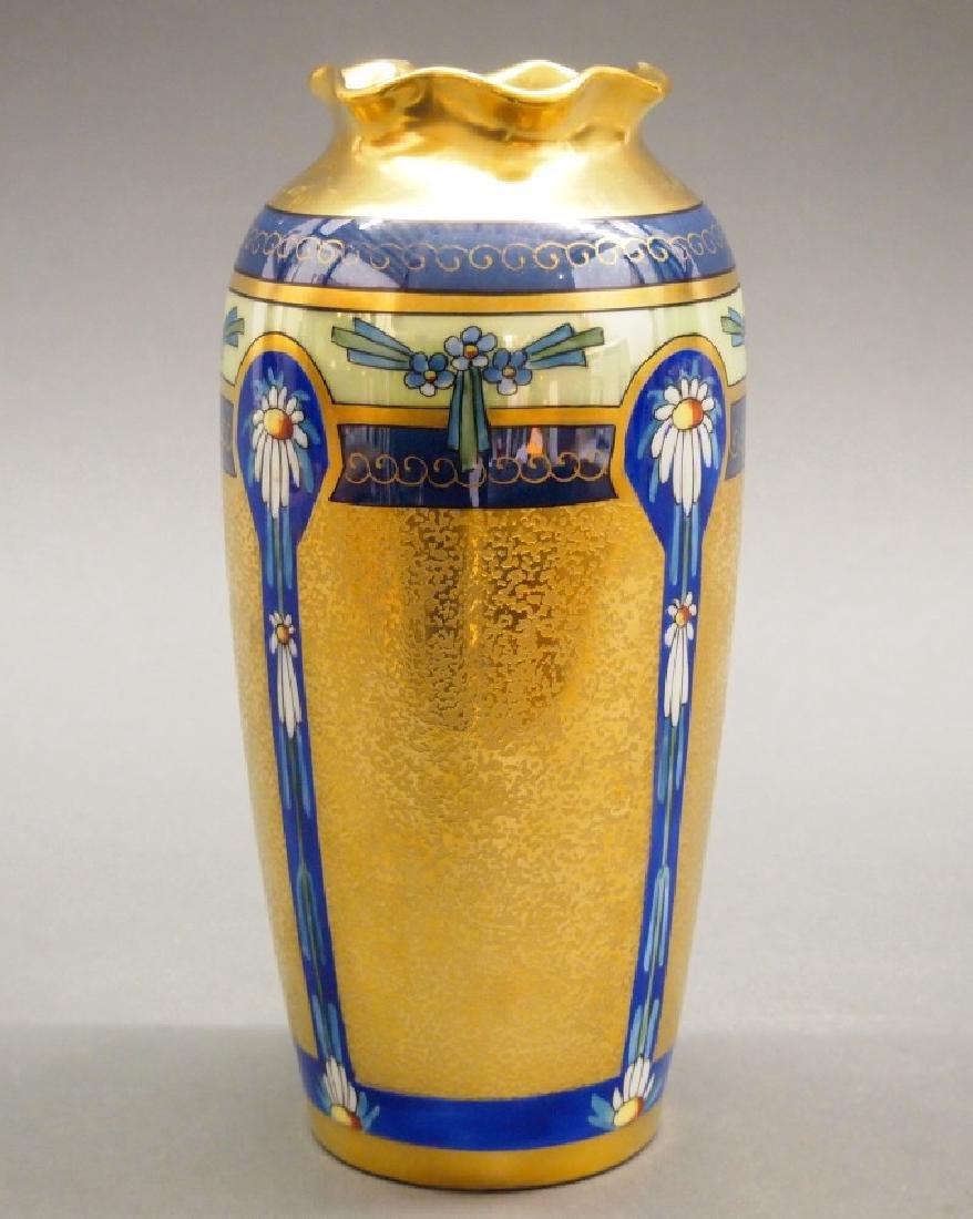 3 Pickard vases - 2
