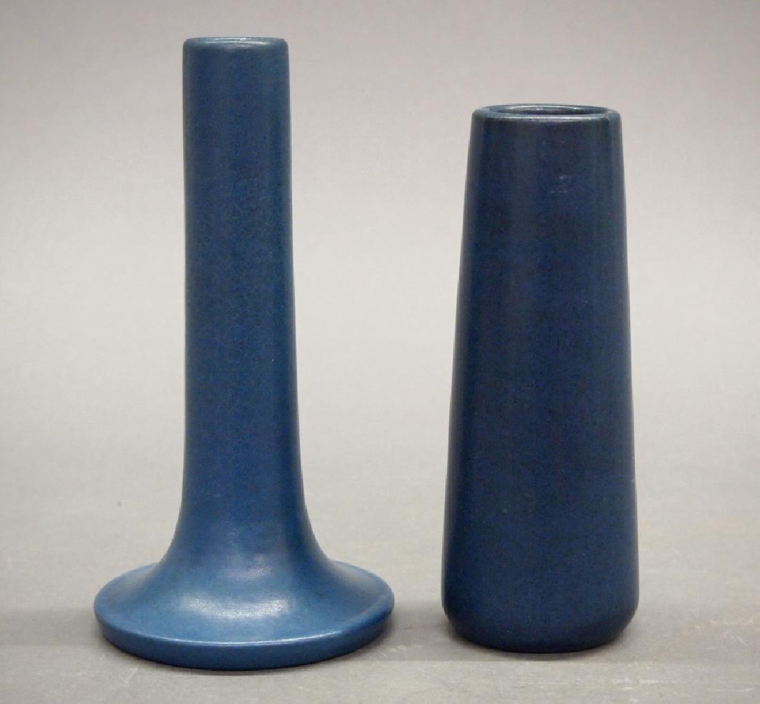 2 Marblehead Pottery vases