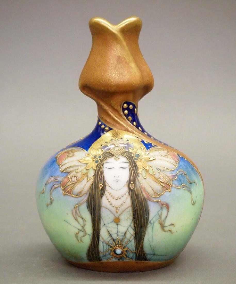 RStK Amphora Turn Teplitz Fates vase