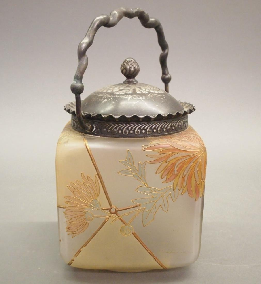 Mt Washington Royal Flemish biscuit jar