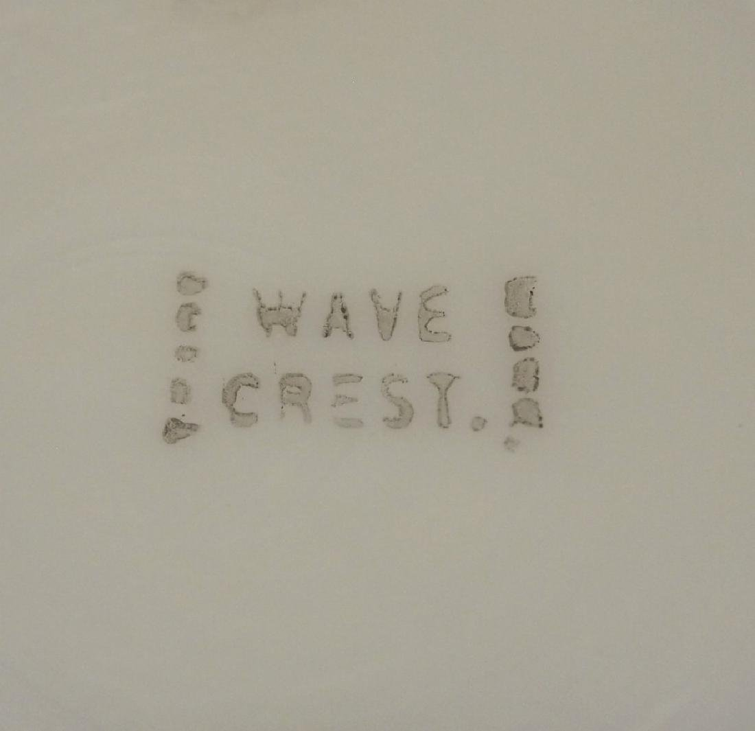 3 Wave Crest dishes - 5