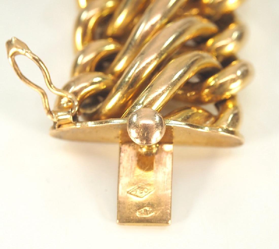 18 kt Gold Bracelet - 3