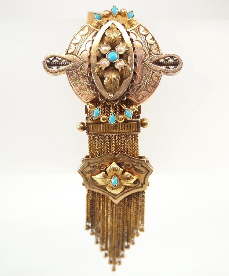20 kt Gold Victorian Bracelet