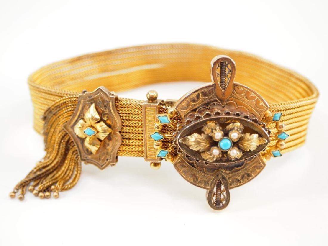 20 kt Gold Victorian Bracelet - 2