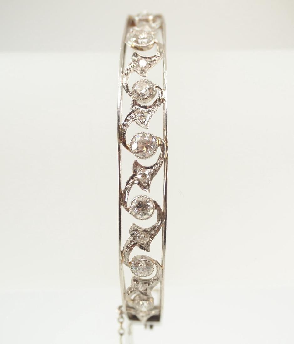 Platinum & Diamond bracelet