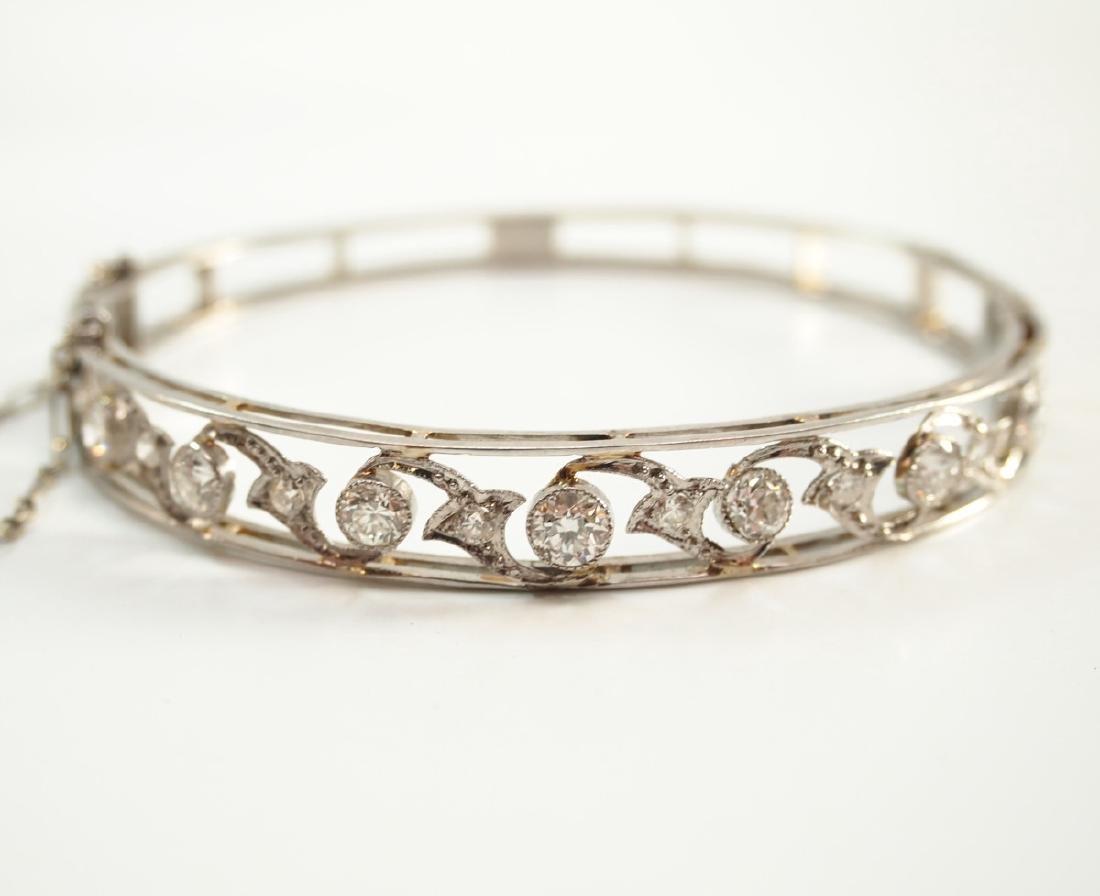 Platinum & Diamond bracelet - 2