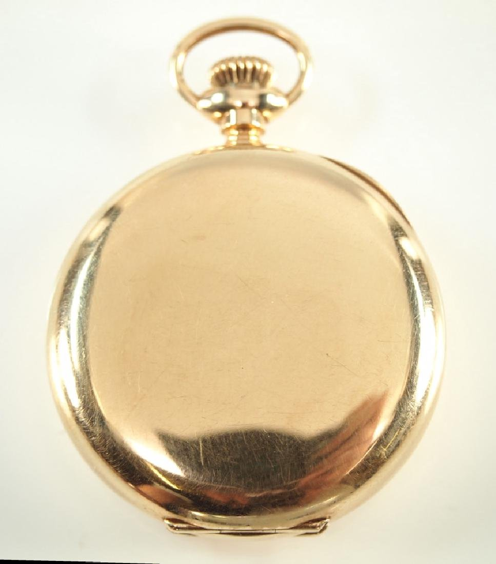 14 kt ladies pendant watch - 3