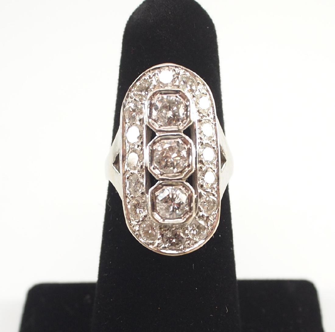 14kt Gold & Diamond Ring